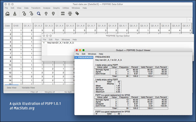 Free and open source statistics software for Macs (OS X)